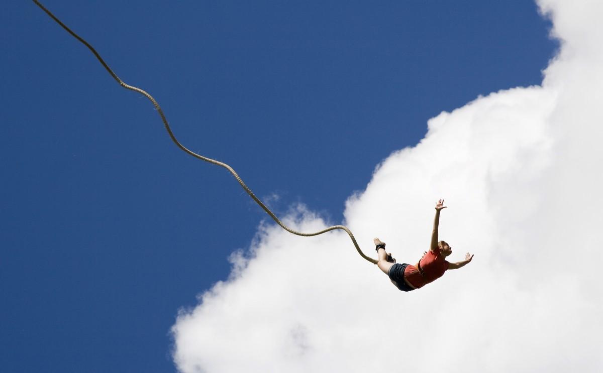 Cabo San Lucas bungee jumping